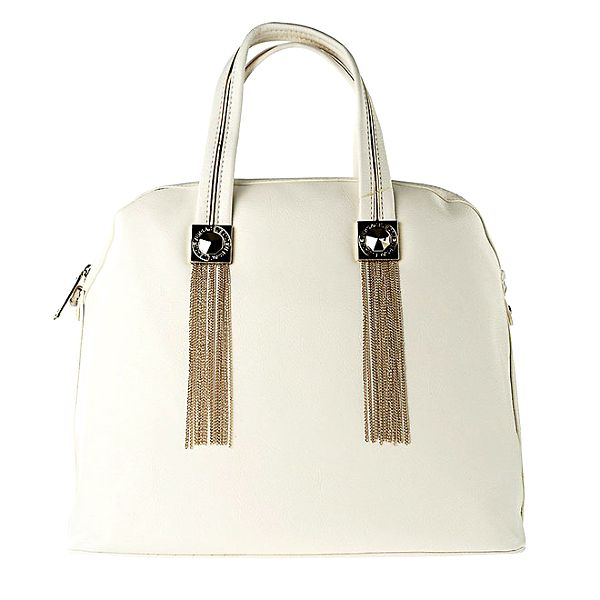 Dámská bílá kabelka s třásněmi Versace Jeans