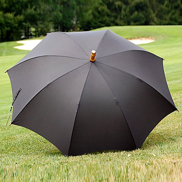 Dámský černý deštník Alvarez Romanelli