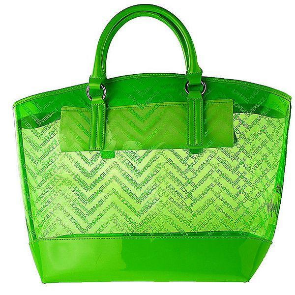 Dámská zelená kabelka Versace Jeans
