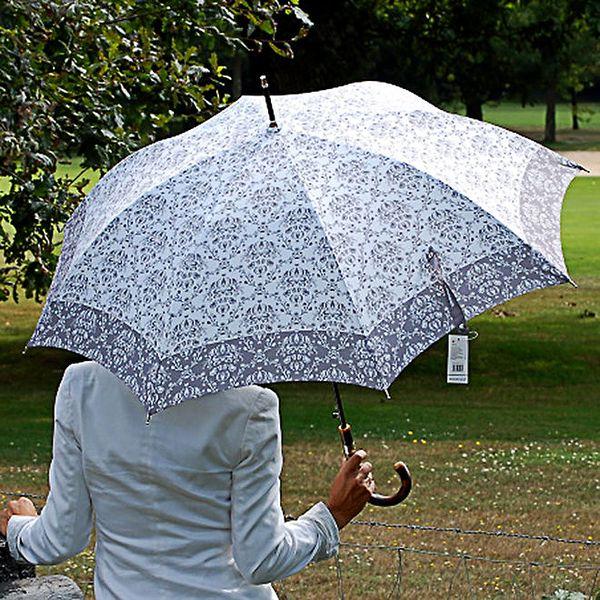 Dámský šedý deštník s vintage vzorem Alvarez Romanelli