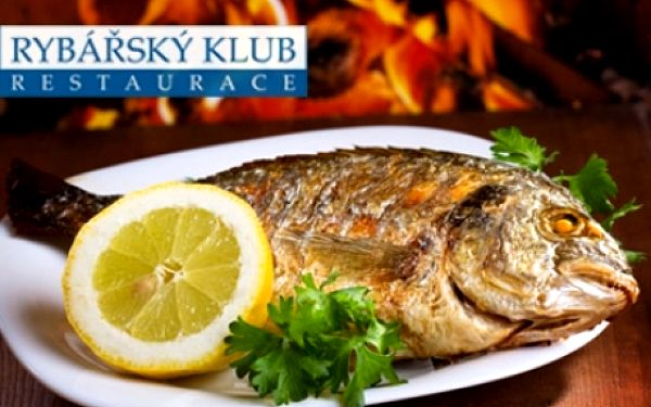 Pro milovníky ryb - restaurace RYBÁŘSKÝ KLUB na Kampě! Speciality z nejčerstvějších mořských i sladkovodních ryb, žabí stehýnka, kachna, steaky, saláty a dezerty! Restaurace v samém centru P-1!!!