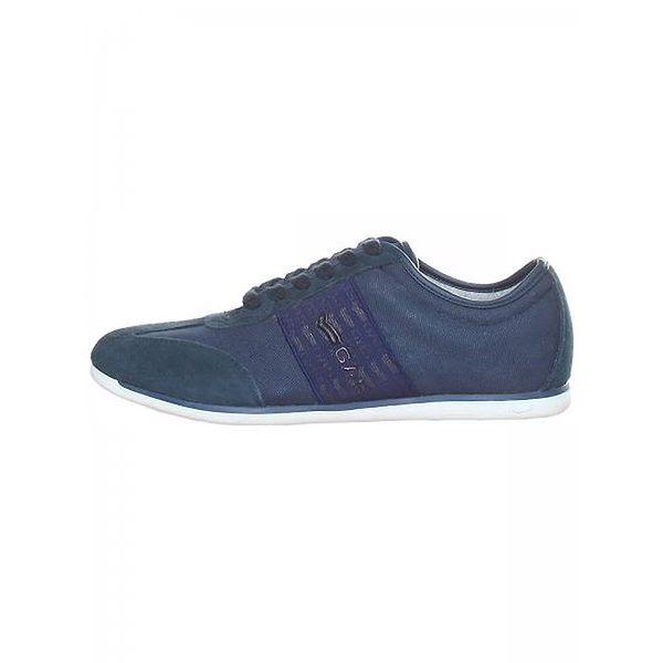 Pánské temně modré semišové boty GAS