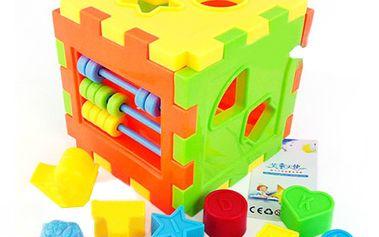 Dětská vzdělávací hračka - barevná kostka a poštovné ZDARMA! - 29105349