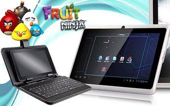 Tablet ANGRY BIRDS s Androidem a duálním foťákem