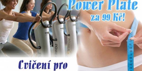 30 min. cvičení na POWERPLATE S OSOBNÍM TRENÉREM! Vypracujte si postavu moderní metodou cvičení! Beauty Body Studio kousek od metra Háje!