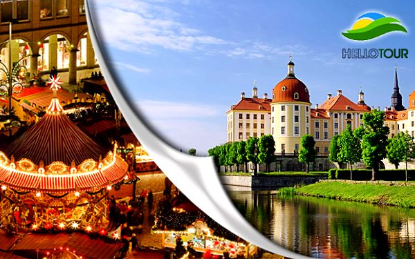 Zámek Moritzburg a Drážďany již od 16.11.2013