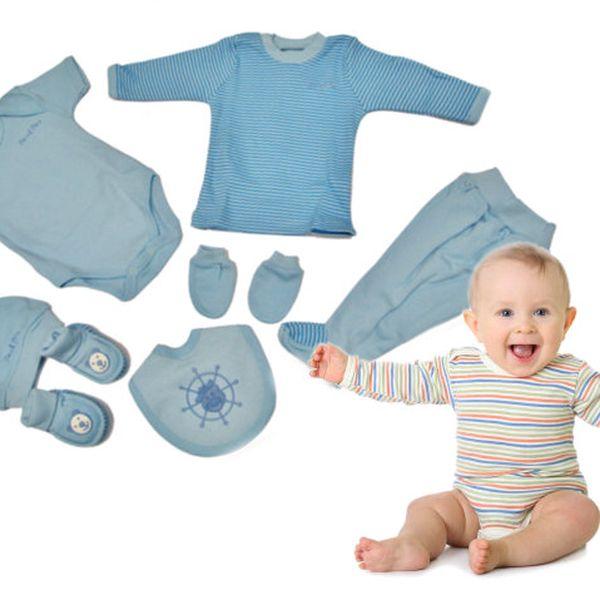 Dětská sedmidílná sada - modrá