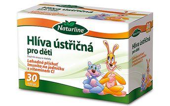 Doplněk stravy Hlíva ústřičná pro děti 30 tbl.