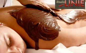 Čokoládová masáž s peelingem a zábalem 390 Kč!