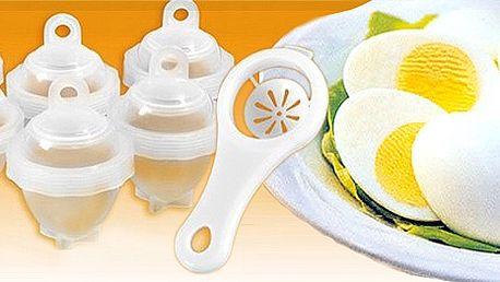 6 kusov nádobiek na varenie vajíčok Eggies len za 6,99€ aj s poštovným