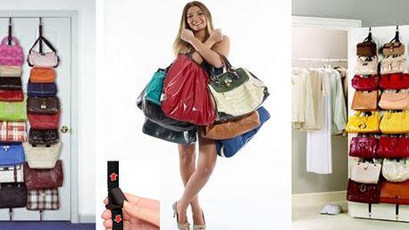 Praktický závesný organizér kabeliek na dvere Bag Rack len za 7,99€ s poštovným v cene