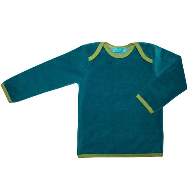Tmavě zelené tričko s dlouhým rukávem