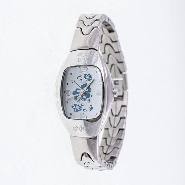 Náramkové hodinky Blue Flowers