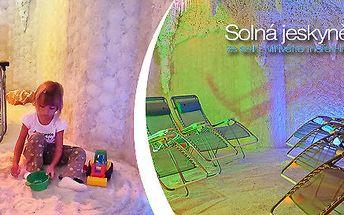 Relax v solné jeskyni pro dospělé i děti