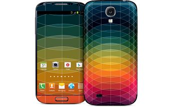 Samolepka na Samsung S IV, Chroma