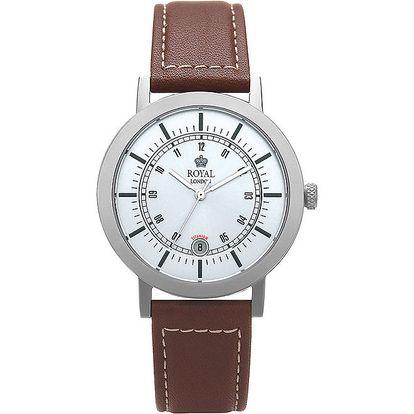 Analogové hodinky s titanovým pouzdrem Royal London