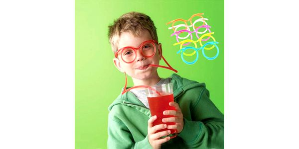 Brčko ve tvaru brýlí - Brčkobrýle, délka 1m a poštovné ZDARMA! - 36201319
