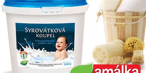 Syrovátková koupel pro zdravou pokožku
