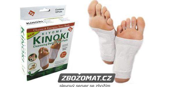 5 balení detoxikačních náplastí Kiyome Kinoki - zbavte své tělo škodlivých látek!