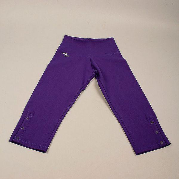 Dívčí fialové široké tepláky Naffta