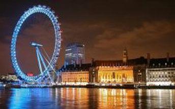 EUROVÍKEND LONDÝN – PERLA NA ŘECE TEMŽI – 3 dny / 2 noci slevou 39 %