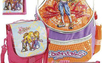 Školní batoh Cool set motiv RockBabe Triple: penál, peněženka, taška svačinářka