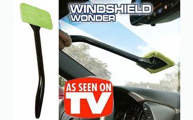 Praktický pomocník pro všechny řidiče v těchto chladných a vlhkých dnech! Díky této báječné stěrce za 79 Kč zkrotíte zamlžená okna v mžiku.