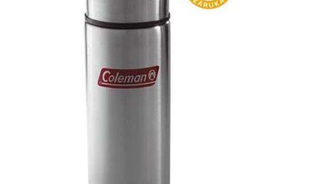 Termoska Coleman 0,75L z nerez oceli (530 g) se špičkovým izolačním výkonem. Záruka 3 roky.