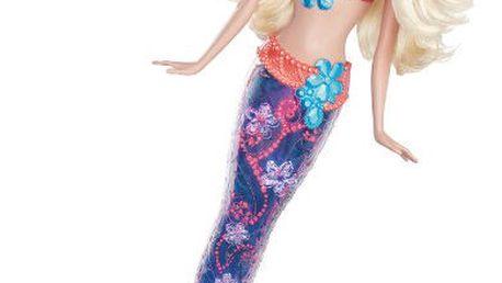 Barbie Svítící mořská panna s nádhernou ploutví, která se může rozsvítit!