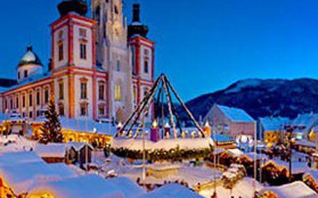 Zažijte advent & tradiční čertovský rej v rakouském Mariazell! JEDNODENNÍ ZÁJEZD pro jednu osobu na proslulé VÁNOČNÍ TRHY v Mariazellu