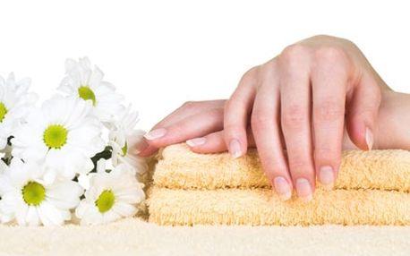 Japonská manikúra P-shine a parafínový zábal, pro ...