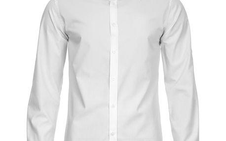 Pánská košile Selected bílá na knoflíky