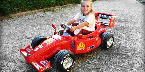 Elektrická F1 Formula pre malých pretekárov za bezkonkurenčnú cenu