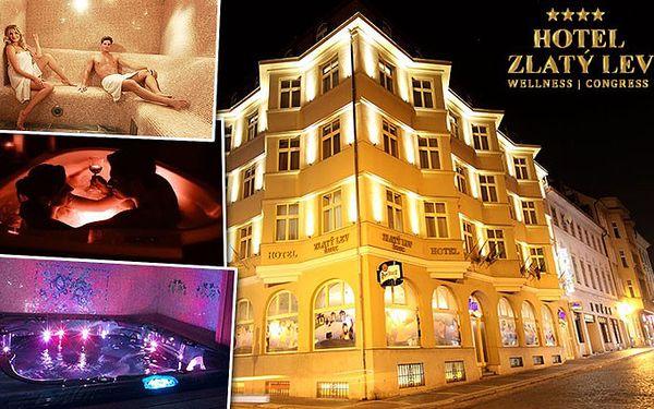 3denní pobyt pro dva v hotelu Zlatý Lev**** v Žatci