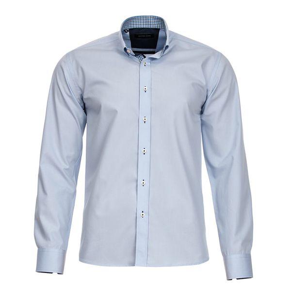 Pánská košile Selected bledě modrá