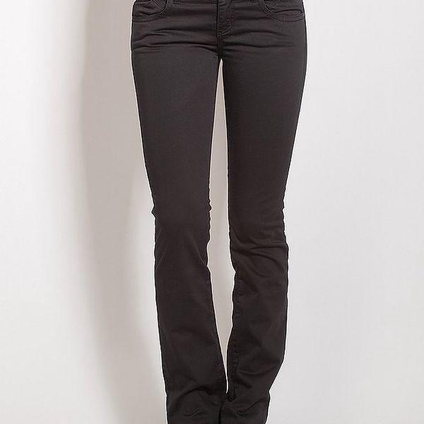 Antracitové skinny kalhoty Phard