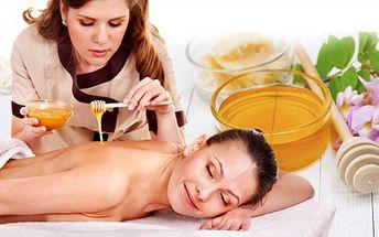 60minutová MEDOVÁ DETOXIKACE za 249 Kč! 40min. masáž + 20 min. zábal Vám uleví od stresu a pomůže při podzimní očistné kúře! Dopřejte si relax se slevou 55%!