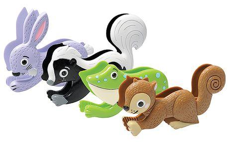 Zvířecí pinzety pro procvičení dětské jemné motoriky