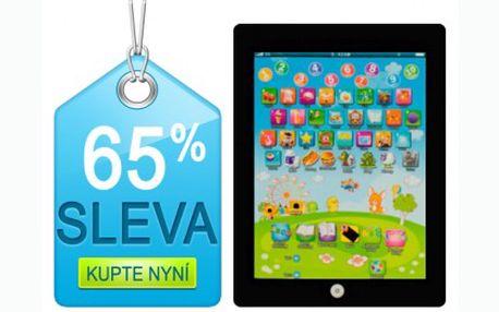 Úžasný dárek pro vaše děti! Dětský tablet jen za 149 Kč, který naučí vaše ratolesti anglická čísla, abecedu a slovíčka. Nejlevněji v ČR!!