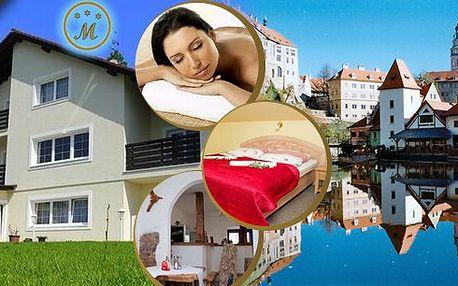 Relaxační pobyt pro 2 osoby na 3 dny ve Vile Maria. Ubytování, polopenze a relaxační masáž pro oba. Při pobytu od Ne do Pá jedna noc zdarma!