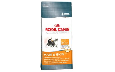 Royal Canin Hair & Skin 10 kg - k dosažení lesklé srsti a zdravé pokožky vaší kočky