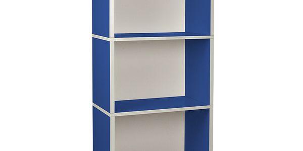 "Ekologický nábytek - Obdélník ""Plus"" modrý"