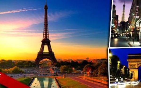 Autobusový poznávací zájezd do Paříže pro 1 osobu za senzační cenu promění váš sen ve skutečnost.