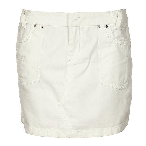 Dámská bílá džínová minisukně Timeout
