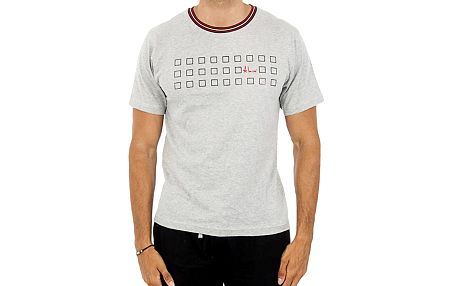 Pánské šedé tričko s potiskem Antonio Miro