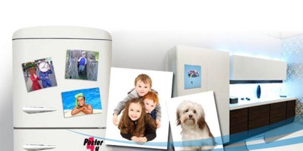 4ks FOTOMAGNETEK 10×15cm z vlastních fotografií za skvělých 159 Kč VČETNĚ POŠTOVNÉHO A BALNÉHO! Váš originální dárek pro celou rodinu, který ozdobí nejen Vaši lednici, ale i veškeré kovové povrchy!