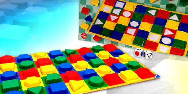 Color and Shape: naučná desková hra pro malé děti za výhodnou cenu