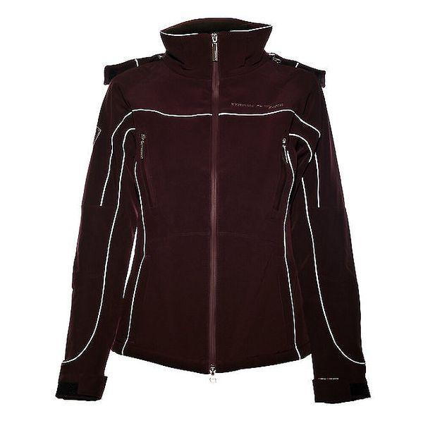 Dámská tmavě fialová softshellová bunda Trimm