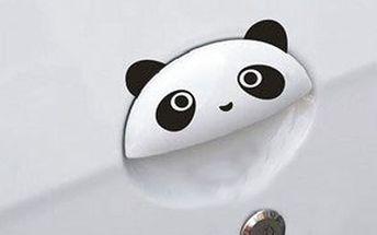 Nálepky s motivem pandy na dveře automobilu - 4 ks a poštovné ZDARMA! - 29405493
