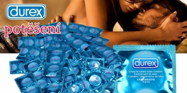 Mix 50 kusů kondomů různých druhů značek Durex a Passante! Potěšení na horké zimní večery!!!